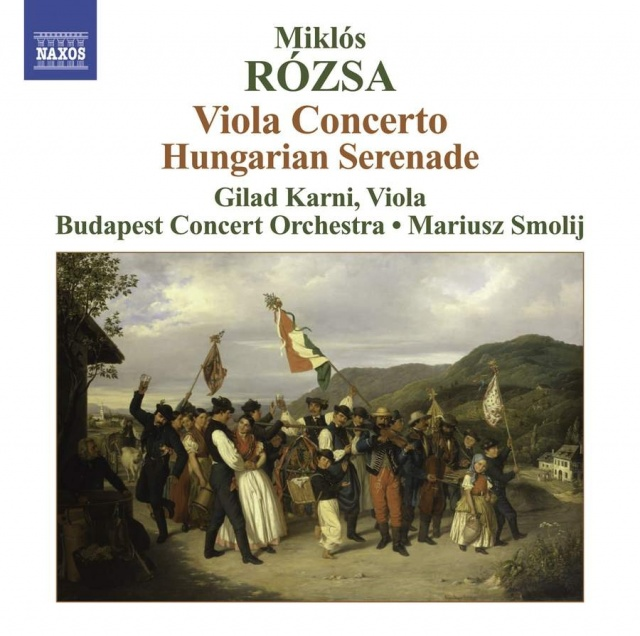 Miklos Rozsa: Viola Concerto, Hungarian Serenade